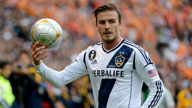 David Beckham: Not going back to Milan, according to Galliani