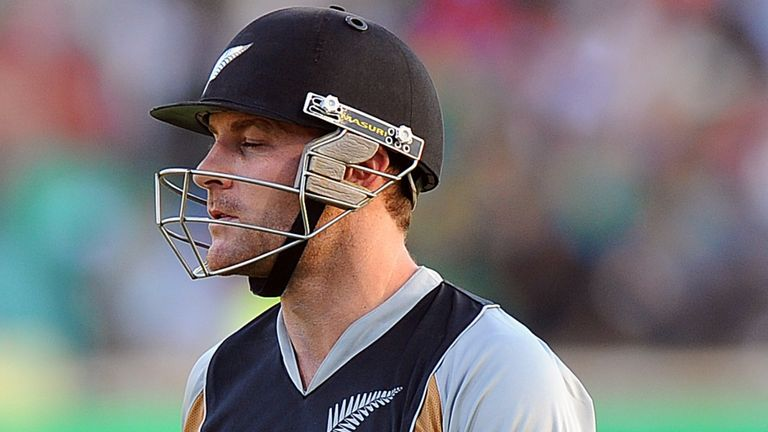 Brendon McCullum: One of Rory Kleinveldt's three victims