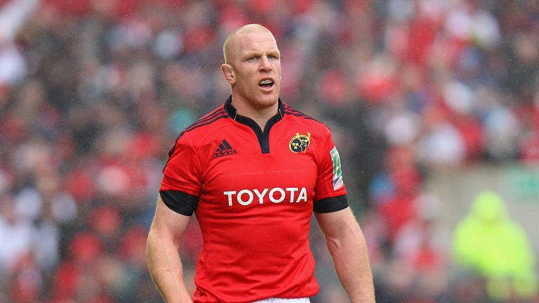 Paul O'Connell: Munster lock's season problably over and Lions availability in doubt