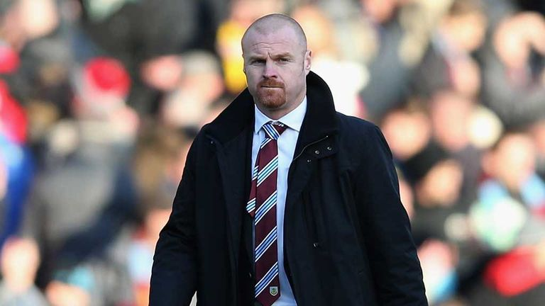 Sean Dyche: Delighted with Keith Treacy