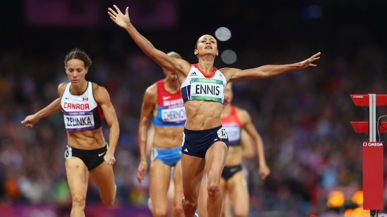 Jessica Ennis: Team GB's poster girl delivered with heptathlon gold at London 2012