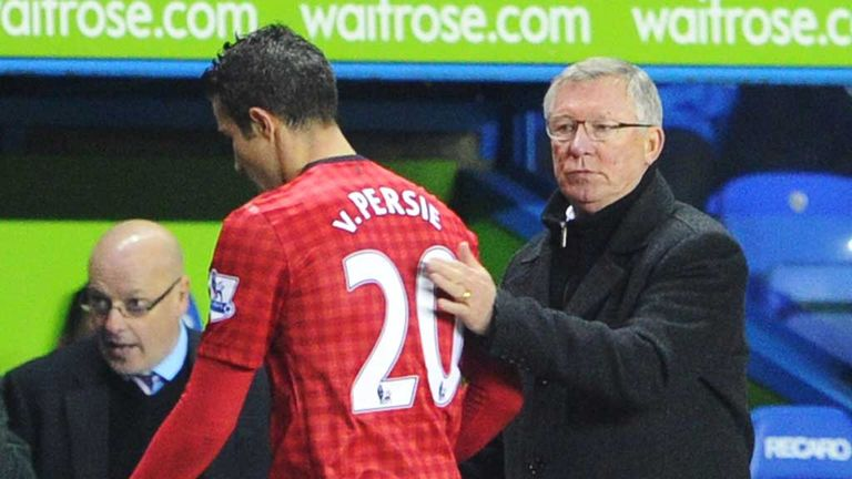 Sir Alex Ferguson: Always confident of beating Man City to Robin van Persie