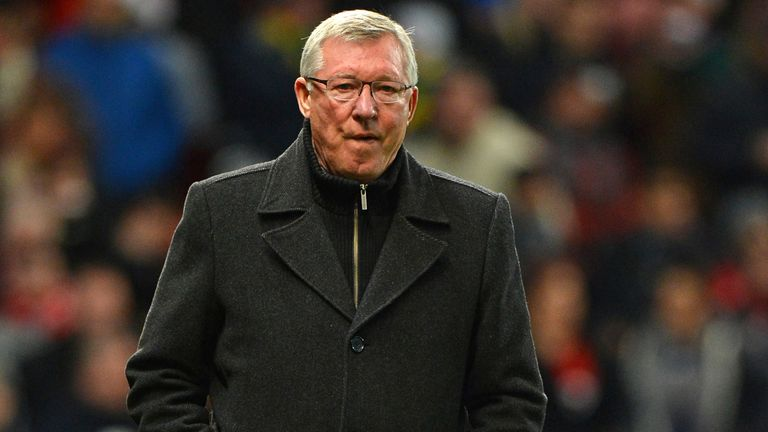 Sir Alex Ferguson: Manchester United are currently six points clear at the top of the Premier League