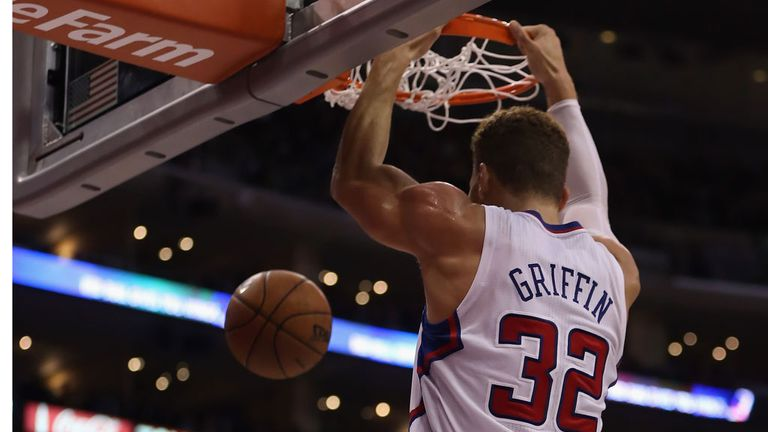 Blake Griffin was on form as the Los Angeles Clippers made it seven straight wins.