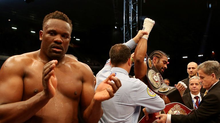 Dereck Chisora: Beaten by David Haye in a Luxembourg-sanctioned fight