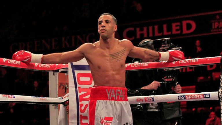 Kal Yafai: Already dreaming of title fights next year (Pic Lawrence Lustig)