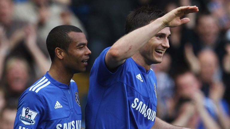 Frank Lampard and Ashley Cole: Both out of contract at Chelsea in the summer
