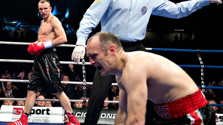 Brian Magee: Has no plans to retire after Mikkel Kessler defeat