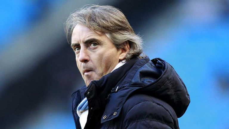 Roberto Mancini: Manchester City manager expects morale to be fine for Sunday's derby against United