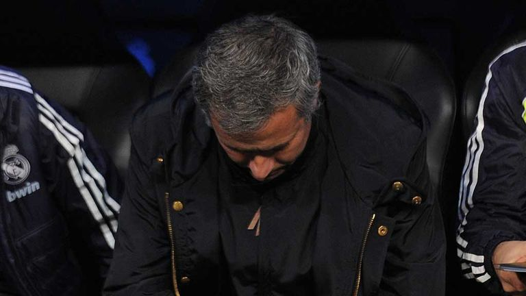 Jose Mourinho: Real Madrid boss downbeat after Espanyol draw
