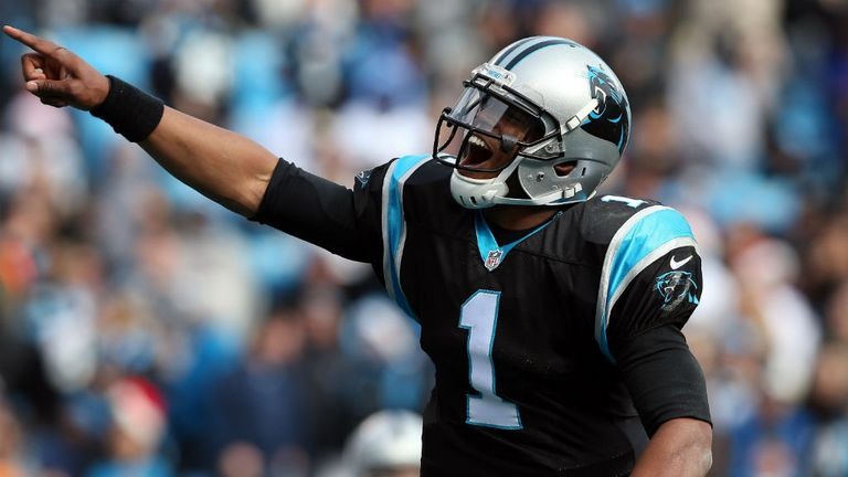 Cam Newton: threw for 171 yards and a touchdown and ran for 60 yards and another score