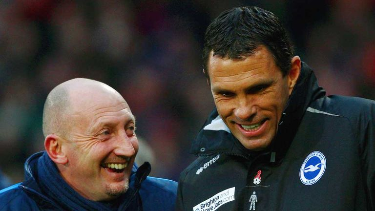 Gus Poyet and Ian Holloway: Good friends before derby showdown