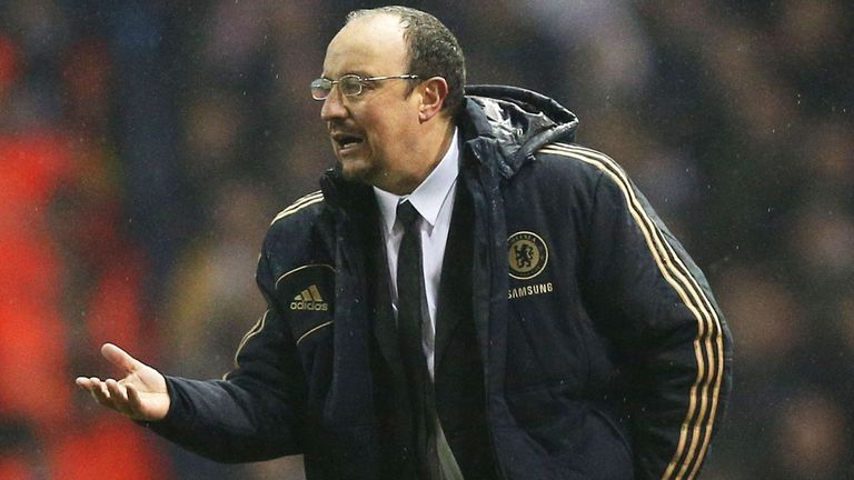 Rafa Benitez: Chelsea interim boss not giving any clues on where his long-term future lies
