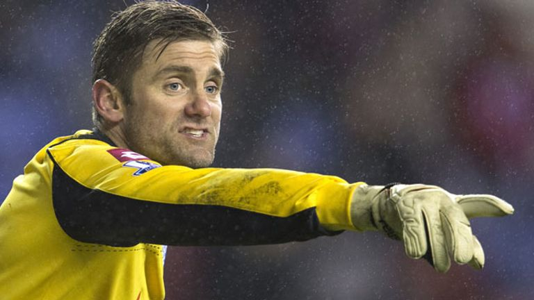 Rob Green: Has expressed his irritation over the signing of Brazilian Julio Cesar