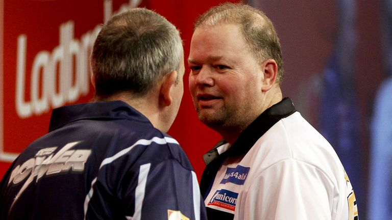 Taylor and Barney clash at the World Championship