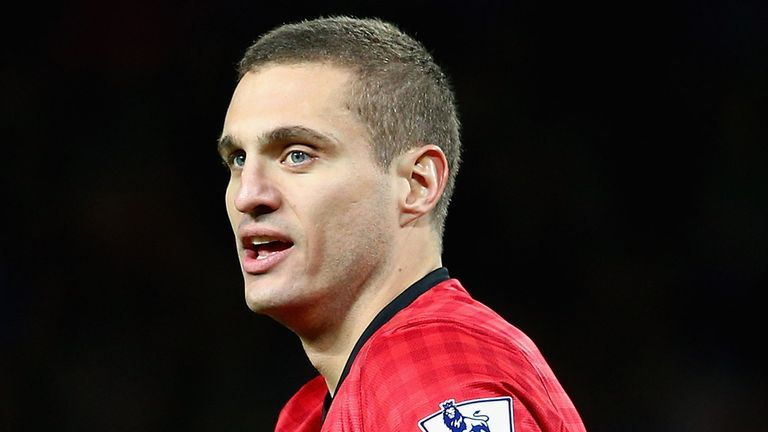 Nemanja Vidic: Back in action for United after spell on sidelines