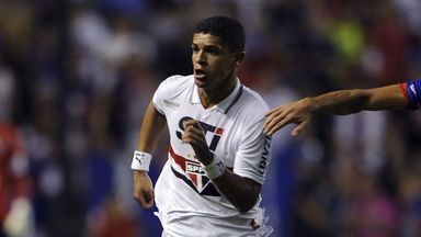 Denilson: Midfielder now with Sao Paulo on permanent deal