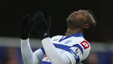 Djibril Cisse: His fourth of the season was not enough for QPR