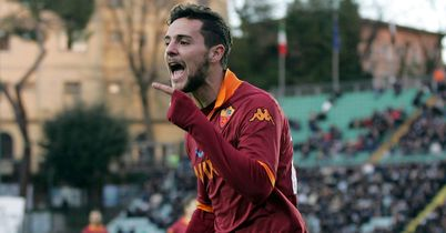 Mattia Destro: Grabbed the winner for Roma against Fiorentina