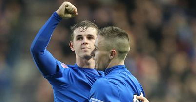 David Templeton: Star of the show for Rangers