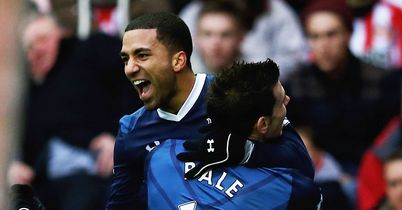 Aaron Lennon: Scored the winning goal for Tottenham