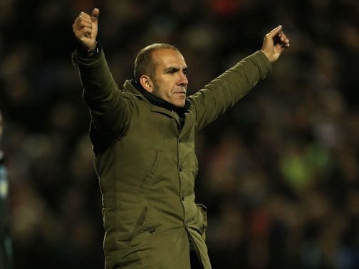 Paolo Di Canio's Swindon have gone third