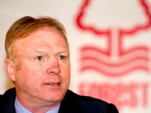 McLeish: Delighted to get a chance at Forest