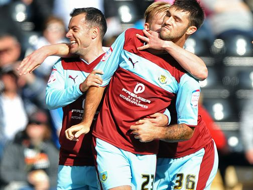 Charlie Austin: On target again for Burnley