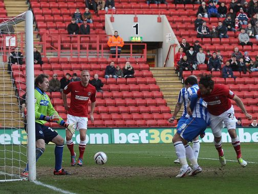 Lawrie Wilson gives Charlton the lead
