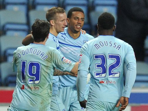 Coventry avoided an upset against Morecambe