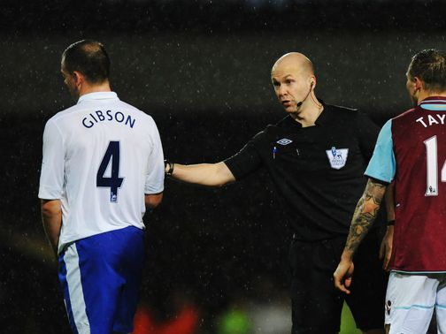 Darron Gibson: Was dismissed in victory over West Ham