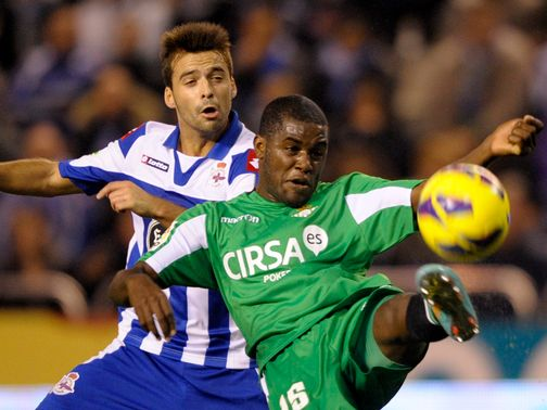 Joel Campbell scored Real Betis&#39; winner against Espanyol.