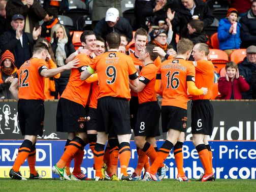 Dundee United: Led at the break but only drew
