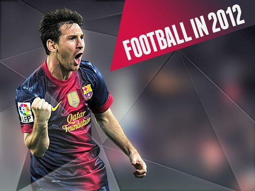 Lionel Messi stole many of the headlines in 2012