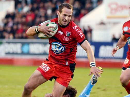 Freddie Michalak: Try scorer for Toulon