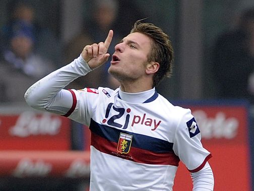 Ciro Immobile scored for Genoa