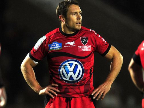 Jonny Wilkinson: Named at fly-half for Toulon