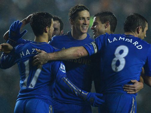 Fernando Torres: Six goals in five games for Chelsea