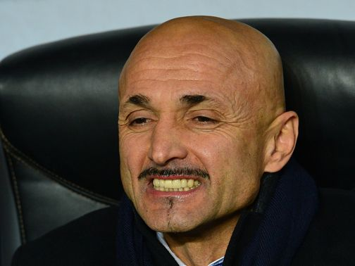 Luciano Spalletti: Distances the club from the fan group