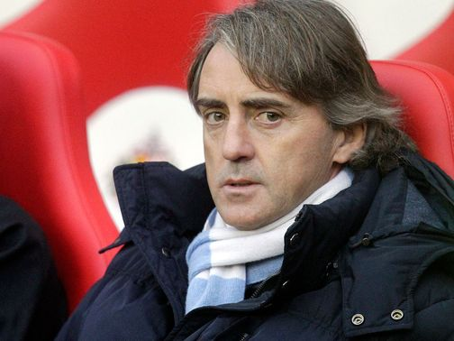 Roberto Mancini: Not concerned by growing gap