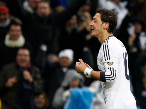Mesut Ozil: Ensured three points for Real Madrid