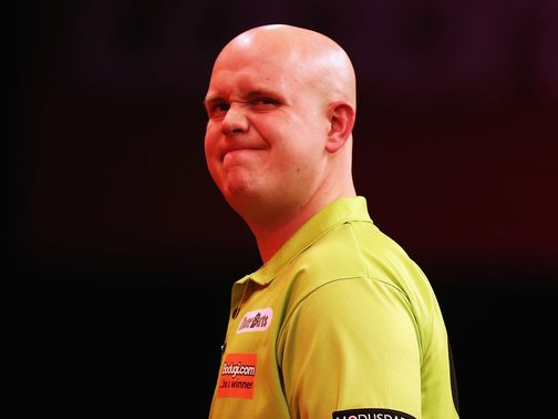 Van Gerwen: 3-0 winner in his opening match