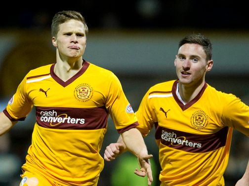 Henrik Ojamaa equalised for Motherwell