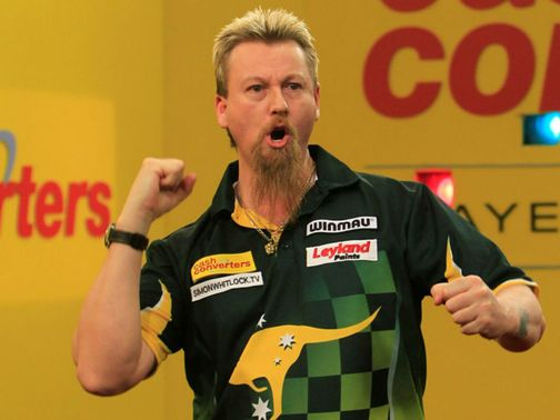 Simon Whitlock: 'The aim is to win'