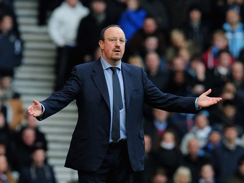 Rafa Benitez: Dominating the back pages