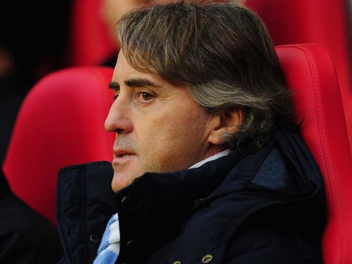Roberto Mancini: United are of no concern to him