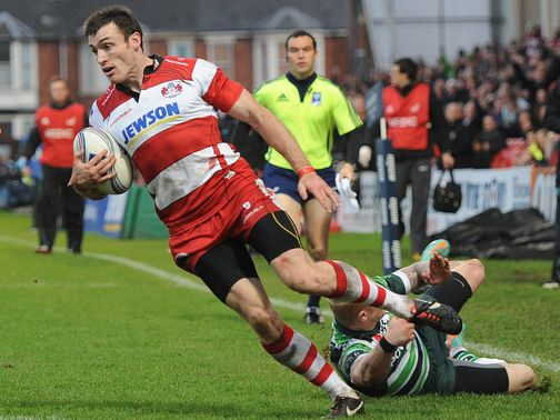 Shane Monahan: Scored four tries for Gloucester