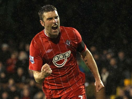 Lambert: Scored the equaliser at Craven Cottage