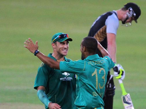 Celebrations for South Africa in Durban