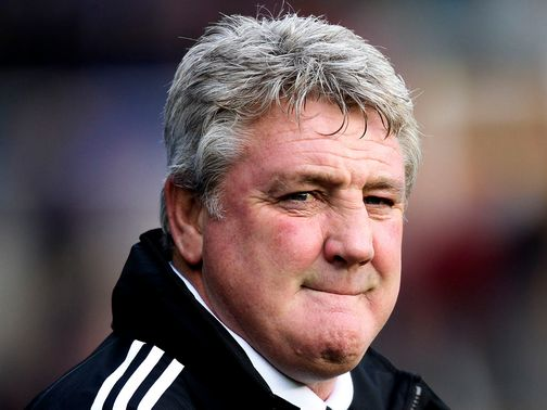 Steve Bruce: His side are now five points behind Cardiff